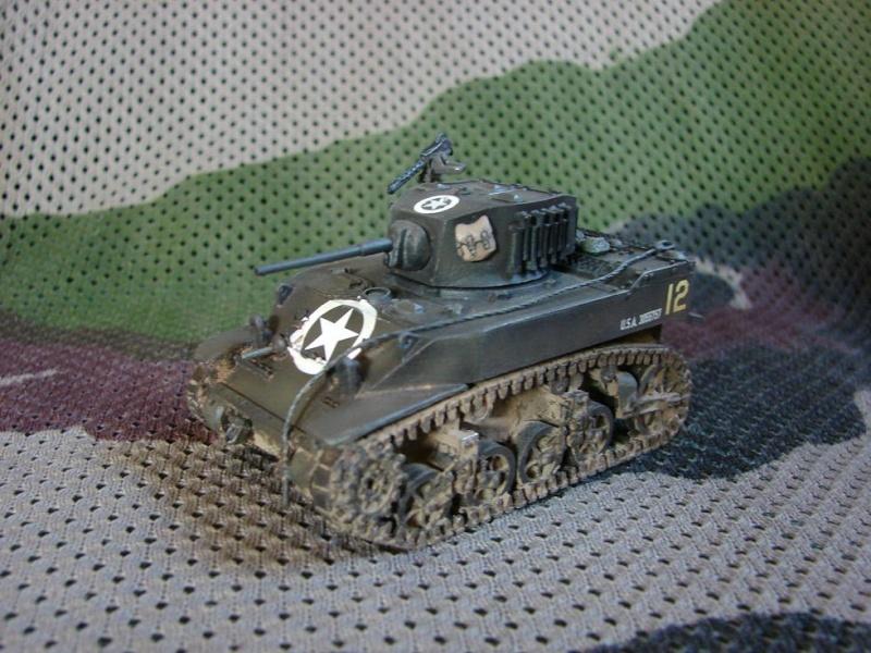 M5A1 Stuart [Warlord games/Bolt Action - 28mm] Dsc01432
