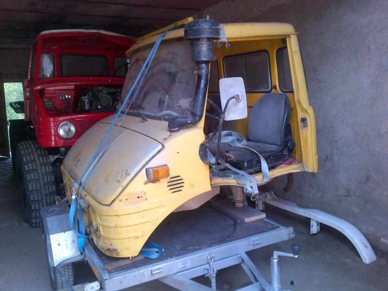 Changement cabine 416 Waldwi10