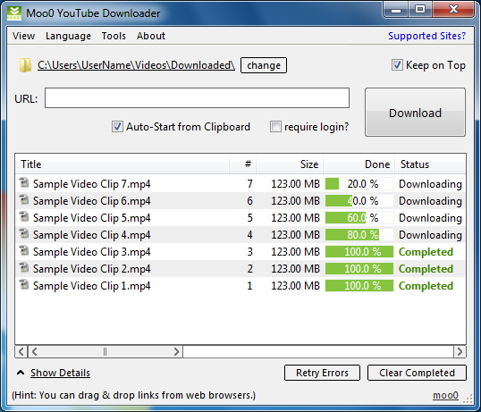 Moo0 YouTube Downloader 1.04 001_x10