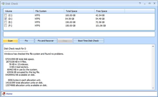 Disk Check 1.1 Diskch10