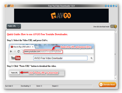 Free YouTube Downloader 1.7.5.2 Free-y10
