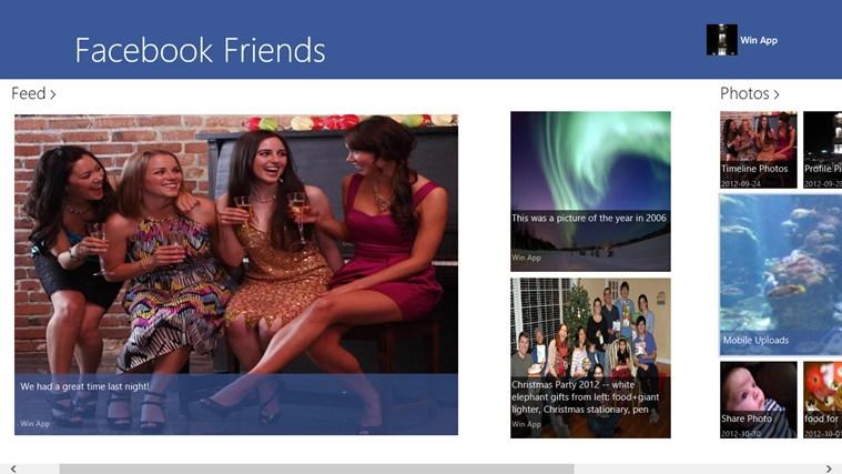 Facebook Friends 2.5.0.0 - Ιδανική εφαρμογή για τους χρήστες του Facebook Screen33