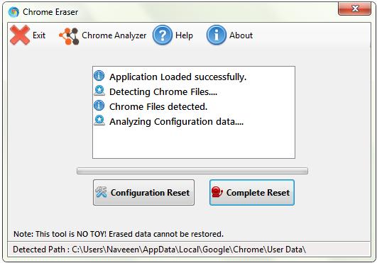 Chrome Eraser 1.0.1.8 Src110