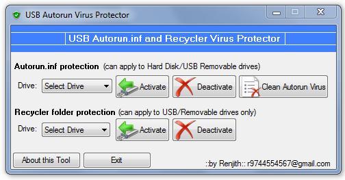 USB Autorun Virus Protector 3.3.8.1 - Προστατέψτε το USB σας από Autorun.inf ιούς Usb_au10