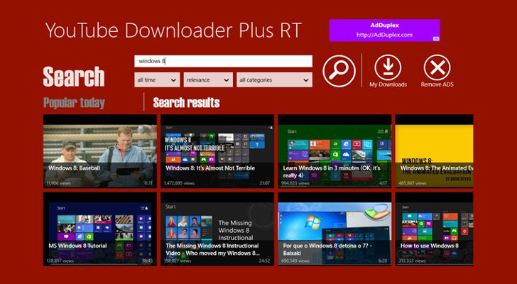 YouTube Downloader Plus RT 1.7.2.6 Youtub13