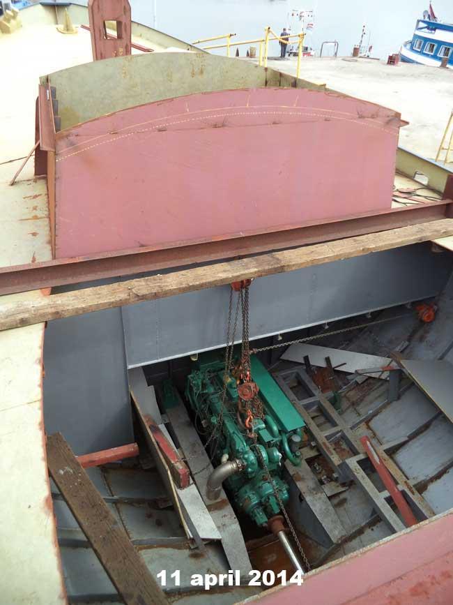 bateau du grand Jacques Cabine10