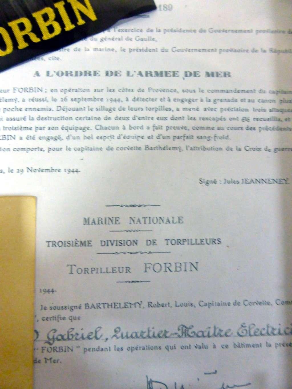 [Les vieux batiments] Torpilleur de 1500 tonnes FORBIN Citati10