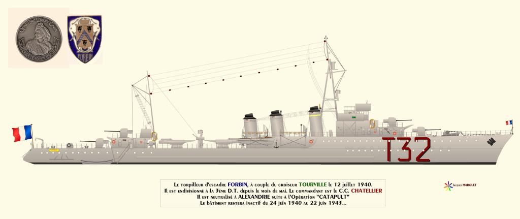 [Les vieux batiments] Torpilleur de 1500 tonnes FORBIN Torpil11