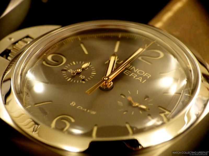 Panerai chronographe Monopoussoir pour gaucher L1220711
