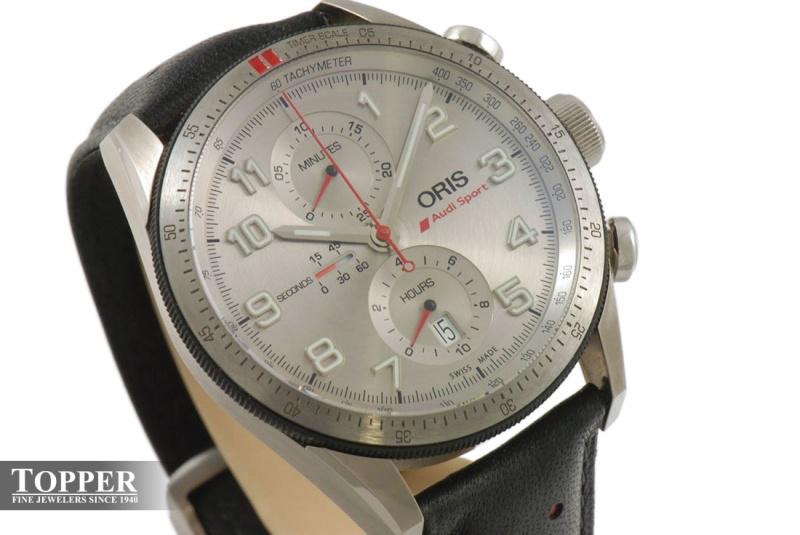 Chronographe Oris - Edition limitée Audi Sport Photo-10