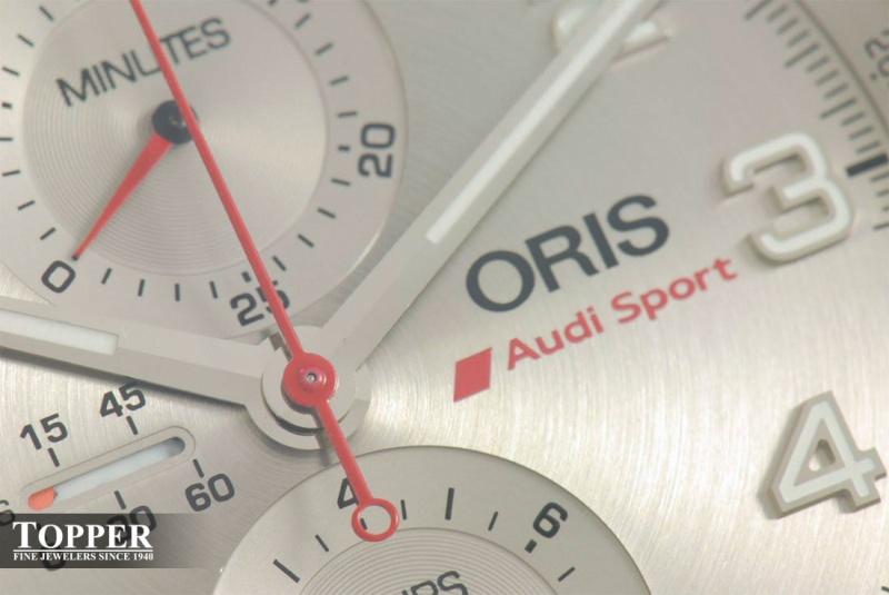Chronographe Oris - Edition limitée Audi Sport Photo-12