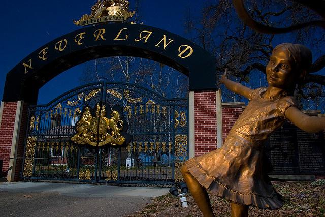Visita a Neverland, il ranch abbandonato di Michael Jackson 110