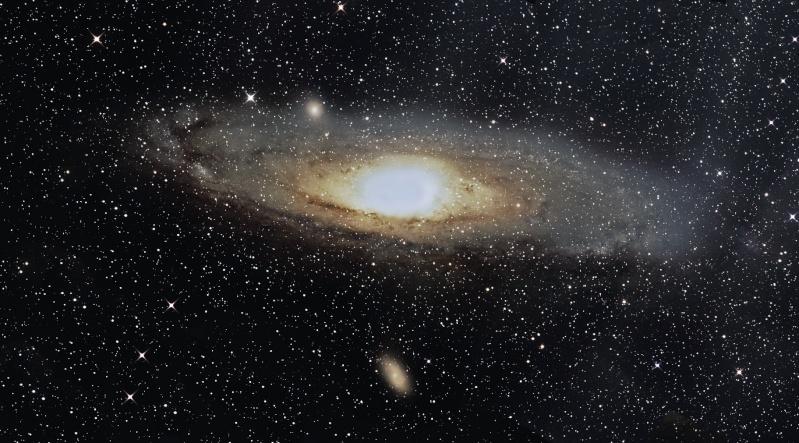 Mosaique de 16 pano de M31 M3110