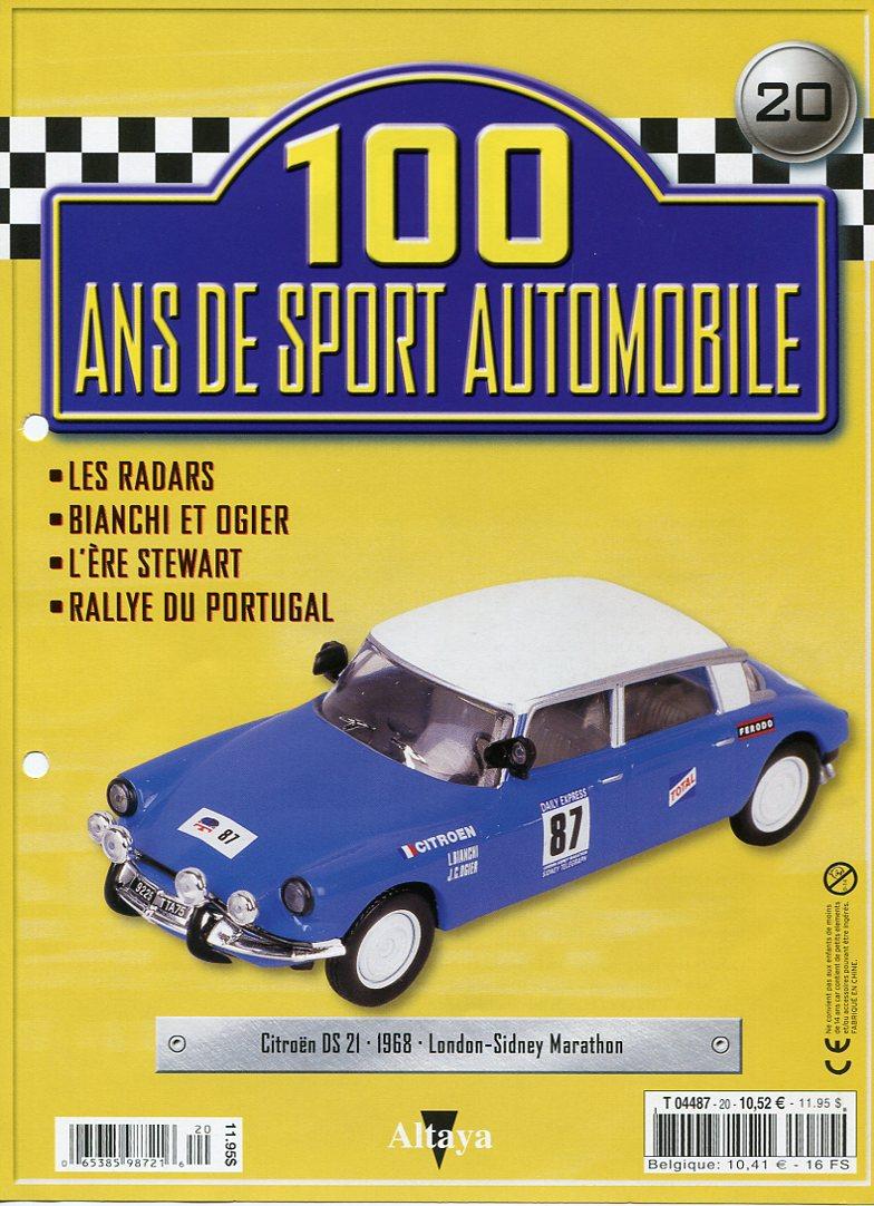 """Les CITROËN dans la Collection """"100 ans de Sport Automobile"""" 100_an29"""