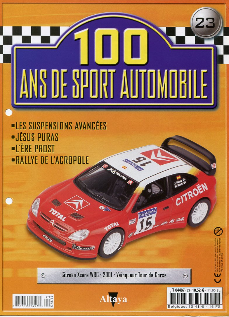 """Les CITROËN dans la Collection """"100 ans de Sport Automobile"""" 100_an32"""