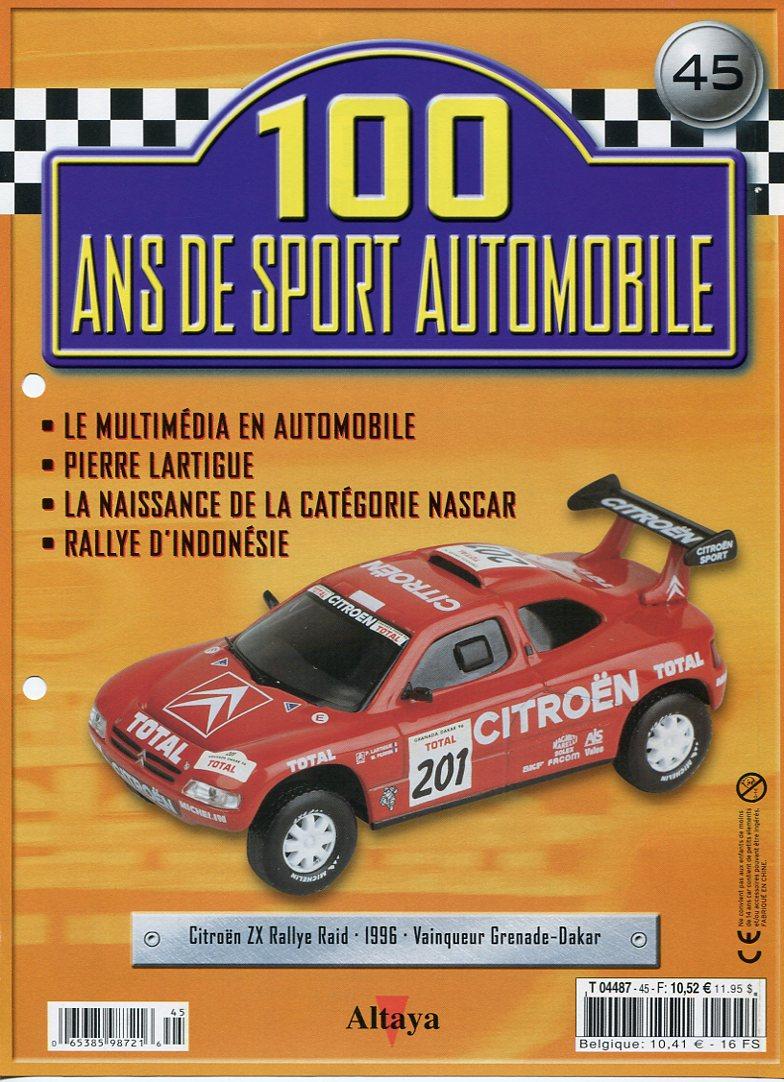 """Les CITROËN dans la Collection """"100 ans de Sport Automobile"""" 100_an54"""