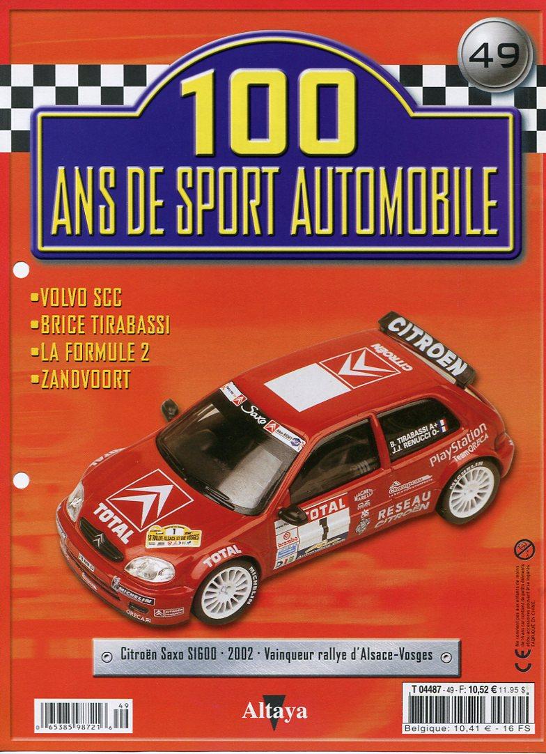 """Les CITROËN dans la Collection """"100 ans de Sport Automobile"""" 100_an58"""