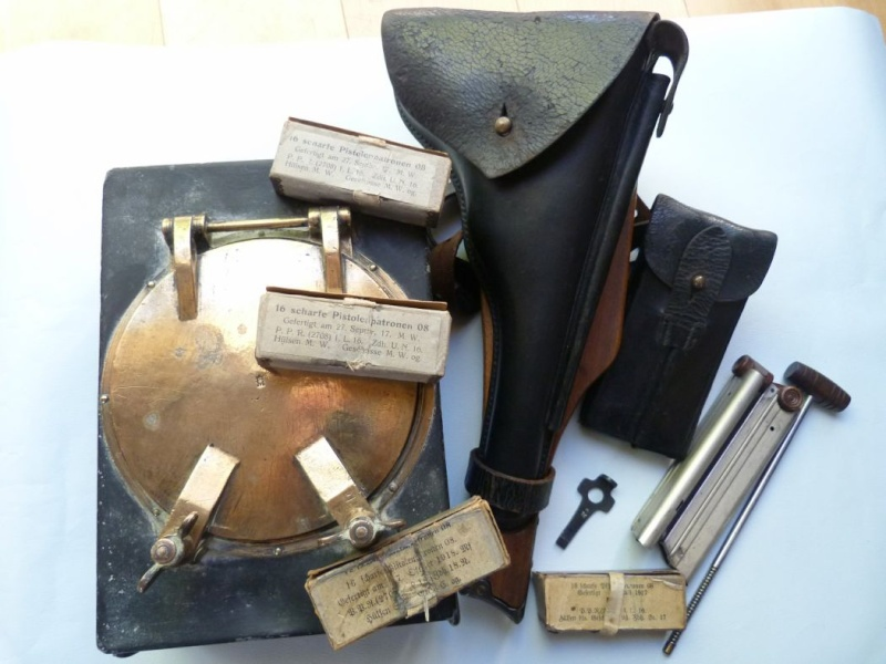 Une caissette à cartouches de la marine impériale allemande. Caisse17
