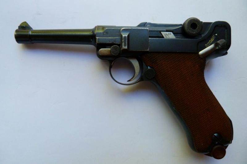 Les Luger commerciaux utilisés par l'armée impériale allemande et la Reich gendarmerie d'Alsace-Lorraine. Dwm_1920