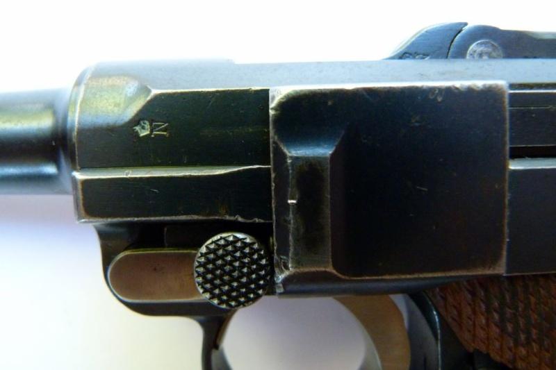 Les Luger commerciaux utilisés par l'armée impériale allemande et la Reich gendarmerie d'Alsace-Lorraine. Dwm_1921