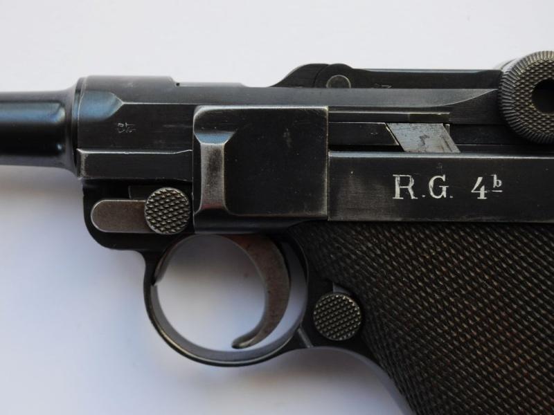 Les Luger commerciaux utilisés par l'armée impériale allemande et la Reich gendarmerie d'Alsace-Lorraine. Dwm_1927