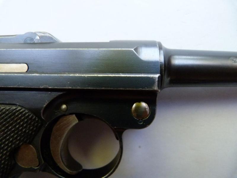Les Luger commerciaux utilisés par l'armée impériale allemande et la Reich gendarmerie d'Alsace-Lorraine. Dwm_1934