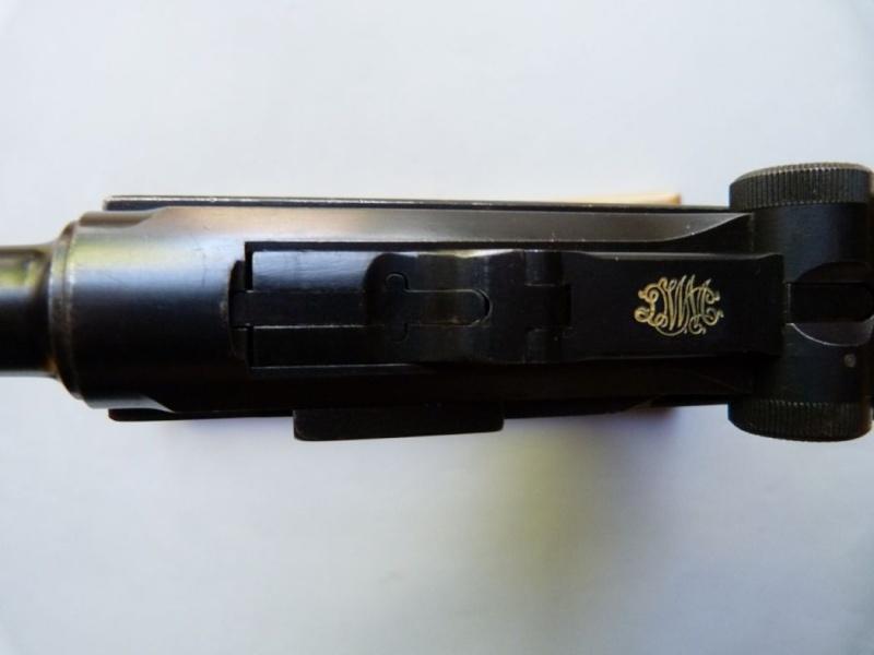 Les Luger commerciaux utilisés par l'armée impériale allemande et la Reich gendarmerie d'Alsace-Lorraine. Dwm_1935