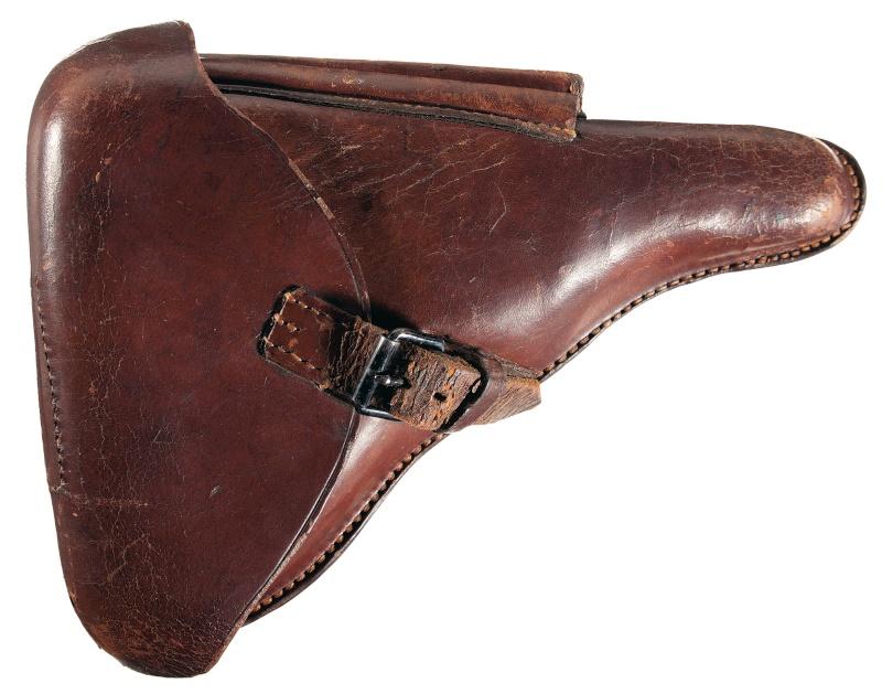 Les Luger commerciaux utilisés par l'armée impériale allemande et la Reich gendarmerie d'Alsace-Lorraine. Holste15