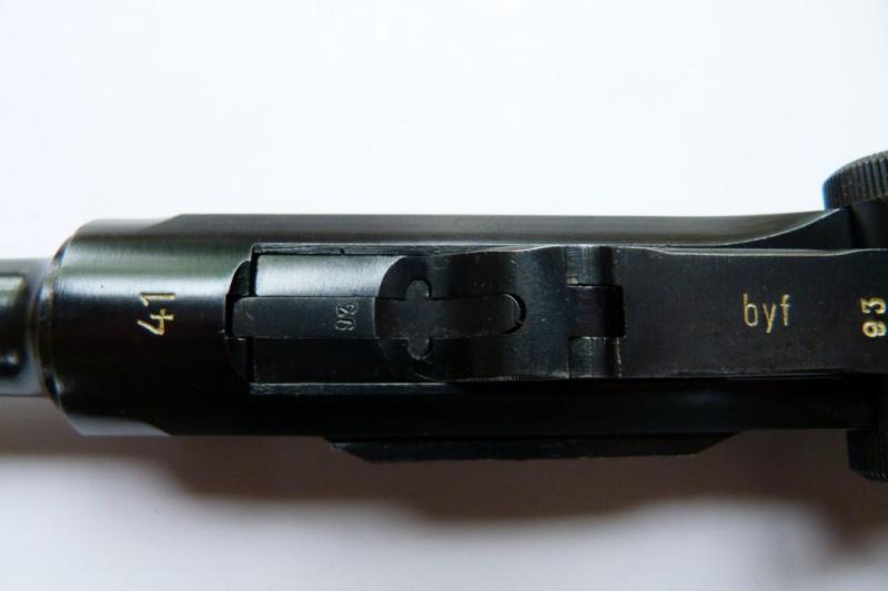 Luger 1934 deuxième variation Mauser12