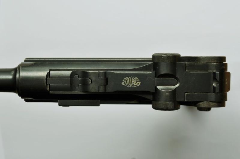 Le P 08 de la DWM de l'armée impériale allemande. P_08_d15