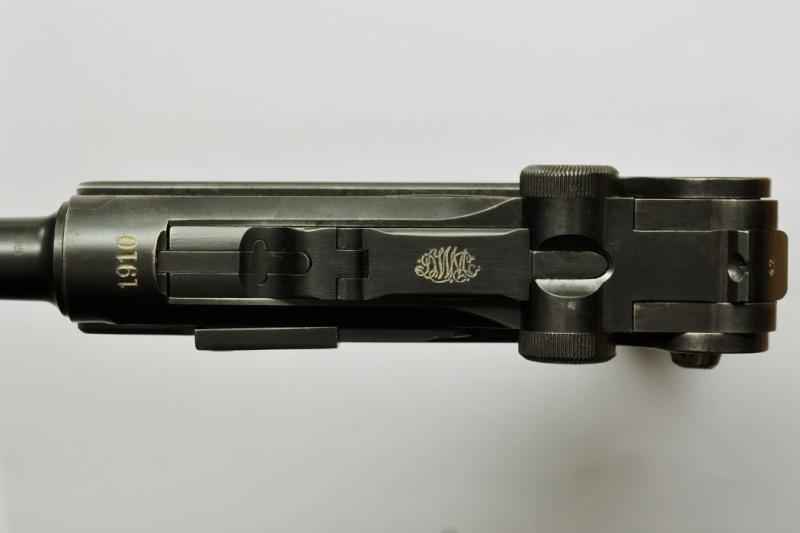 Le P 08 de la DWM de l'armée impériale allemande. P_08_d16