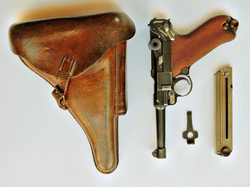 Le P 08 de la DWM de l'armée impériale allemande. P_08_d17