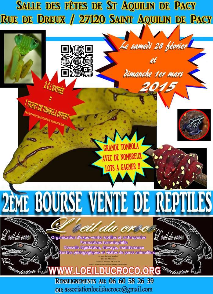 2ème bourse reptiles et arthropodes de Pacy Affich11