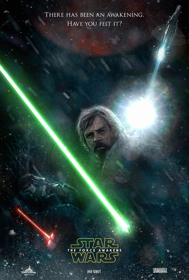 7 - Les posters de Star Wars The Force Awakens - Page 5 Luke_t10