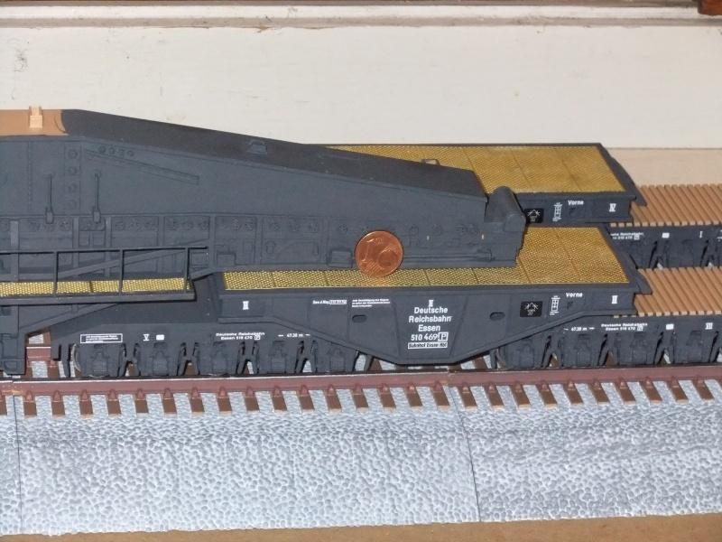 """Deutsches 80cm K(E) Eisenbahngeschütz """"Dora"""" in 1/72 von Hobby Boss - Seite 2 Dscf0917"""