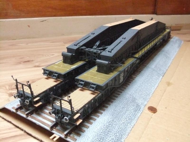 """Deutsches 80cm K(E) Eisenbahngeschütz """"Dora"""" in 1/72 von Hobby Boss - Seite 3 Dscf0937"""
