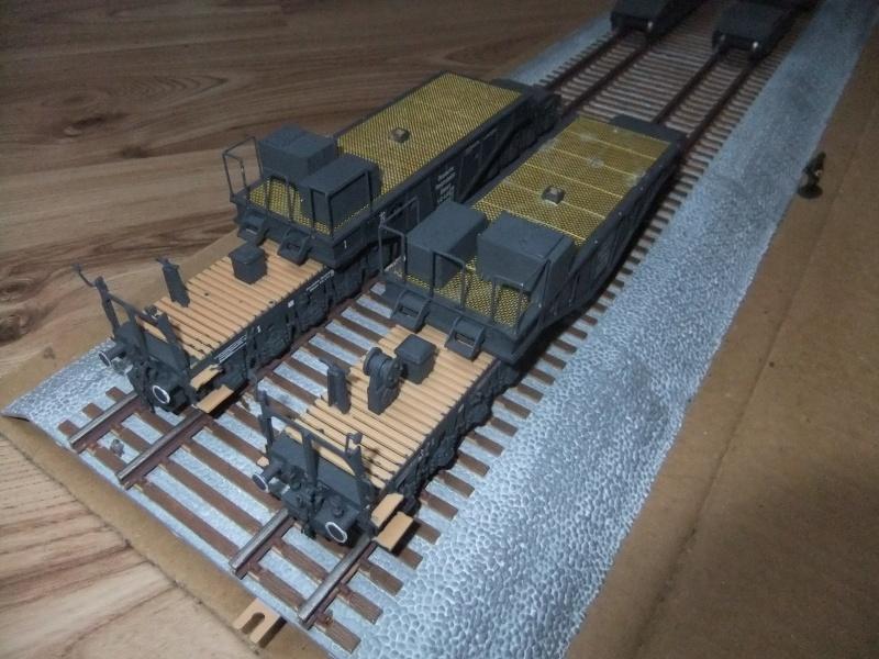 """Deutsches 80cm K(E) Eisenbahngeschütz """"Dora"""" in 1/72 von Hobby Boss - Seite 3 Dscf0943"""
