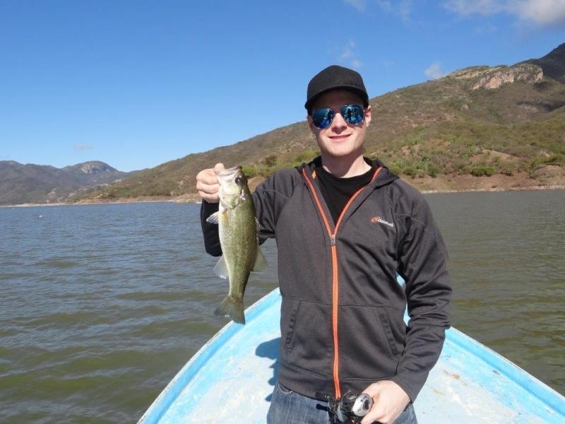 Aguamilpa fishing report - Dec 2014 Dsc06114