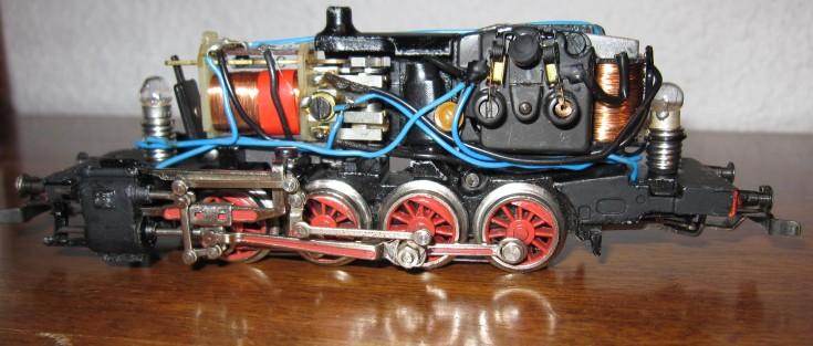 Récapitulatif sur les différents moteurs et leur digitalisation en 3 rails A427a611