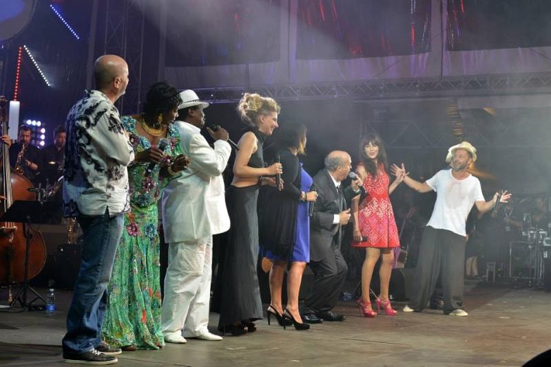 Concert en hommage à Claude Nougaro à Toulouse le 14 juillet 2014 10530911
