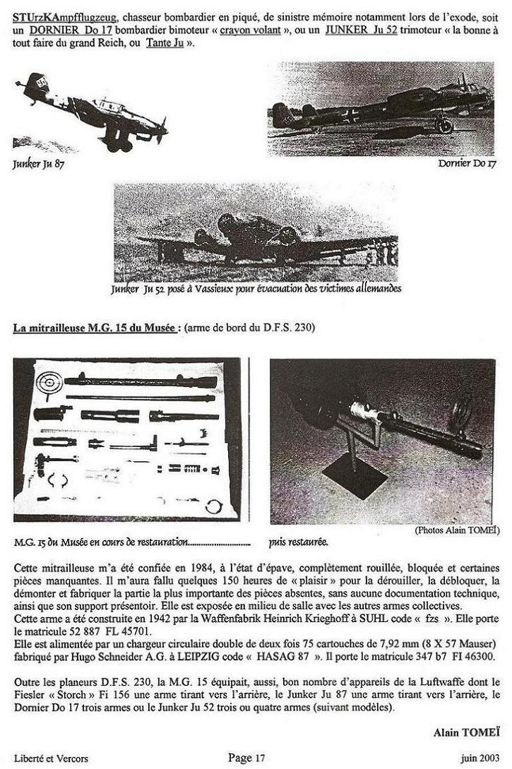 la MG 15 sur planeur DFS 230 Le_pla12