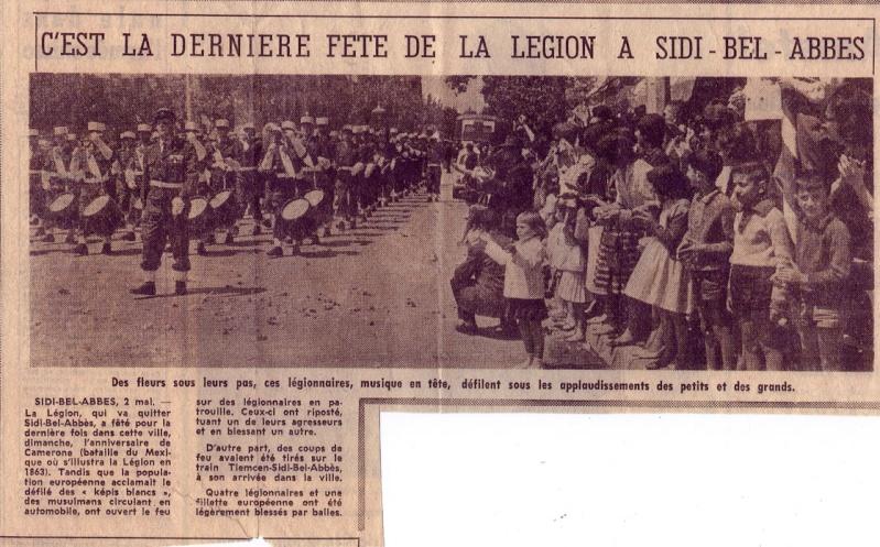 LES DERNIERS INSTANTS DE LA LEGION A BEL-ABBES EN 1962 002_0011