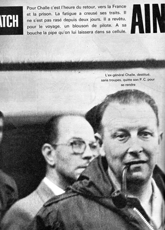 A LA UNE DE PARIS-MATCH DU 6 MAI 1961   1ére partie Img06911