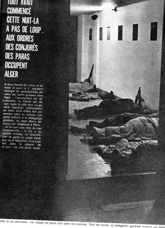 A LA UNE DE PARIS-MATCH DU 6 MAI 1961   1ére partie Img07112