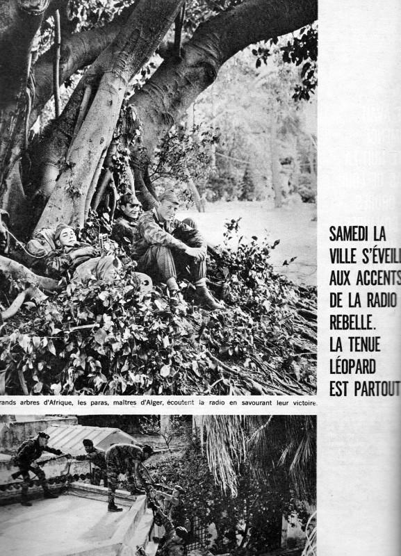 A LA UNE DE PARIS-MATCH DU 6 MAI 1961   1ére partie Img07212