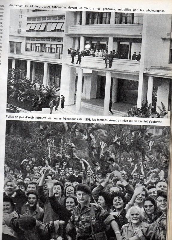 A LA UNE DE PARIS-MATCH DU 6 MAI 1961   1ére partie Img07411