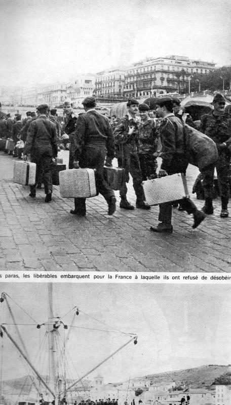 A LA UNE DE PARIS-MATCH DU 6 MAI 1961   2 éme partie Img08311