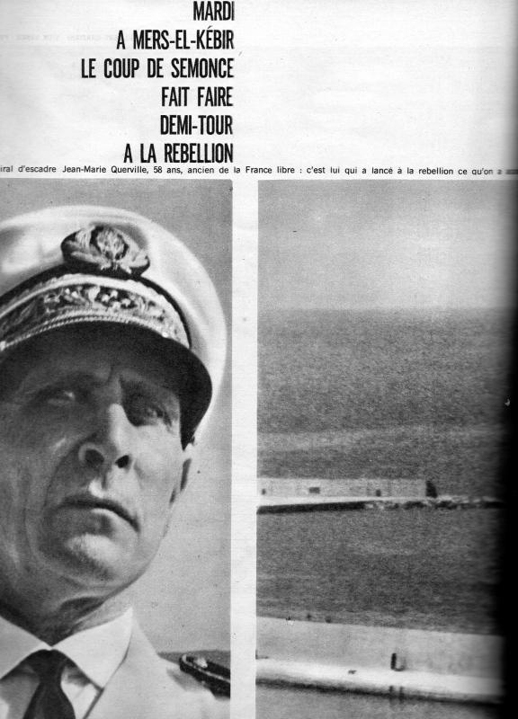 A LA UNE DE PARIS-MATCH DU 6 MAI 1961   2 éme partie Img08411