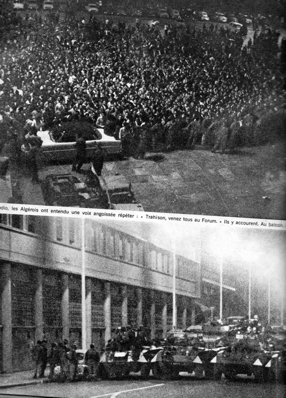 A LA UNE DE PARIS-MATCH DU 6 MAI 1961   2 éme partie Img09012