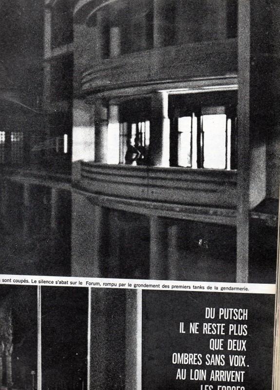 A LA UNE DE PARIS-MATCH DU 6 MAI 1961   2 éme partie Img09111